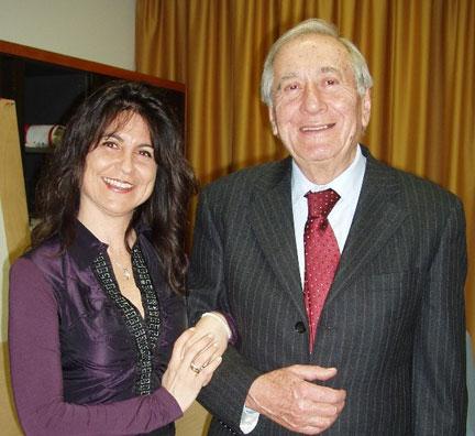 Susanna Trossero con Giuseppe Soffiantini