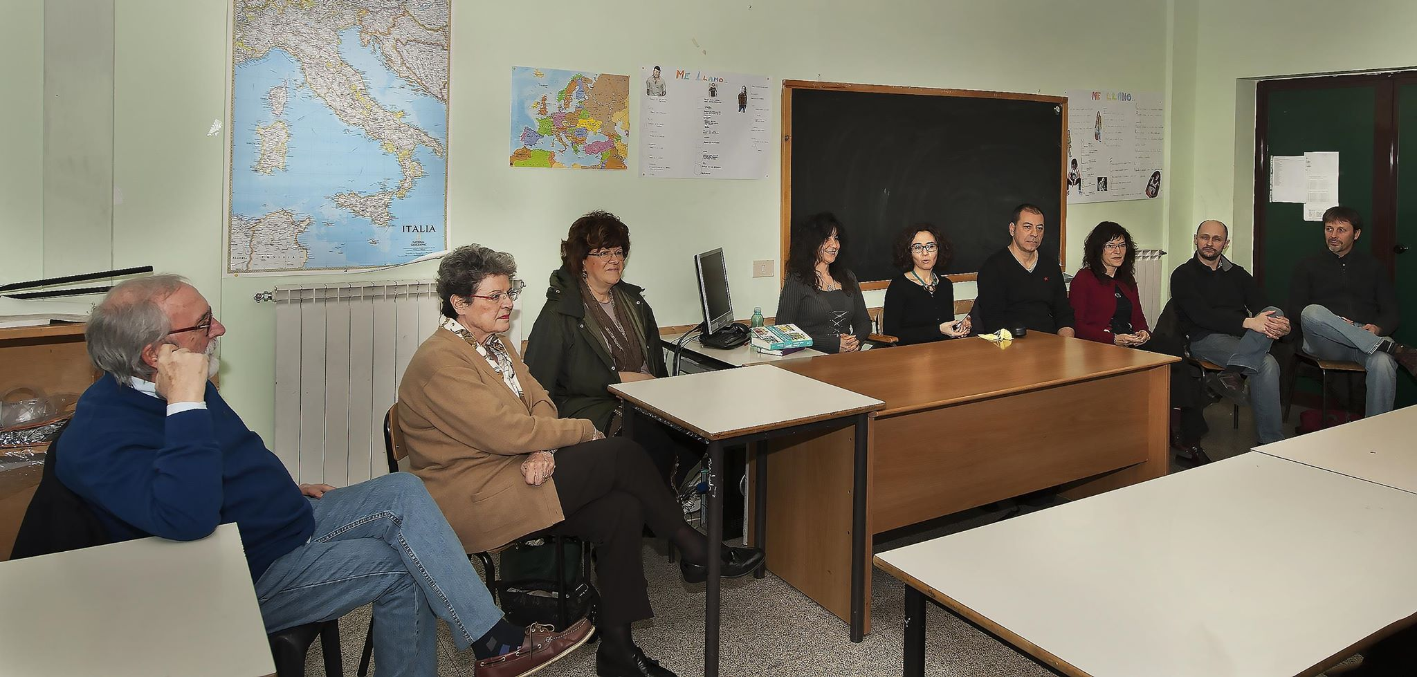Incontro tra «Livia Ottomani» e i «Narratori Seriali»