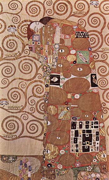 Gustava Klimt, L'abbraccio