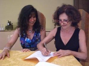 Susanna Trossero e Antonella Serranti